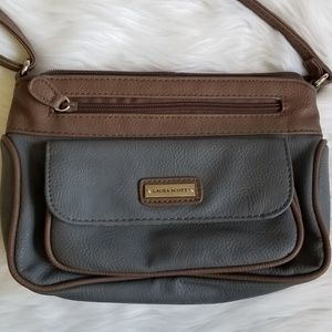 86b7d4ca9f39 Laura Scott Grey Crossbody Bag